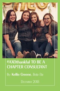 AXOthankful to be a Chapter Consultant