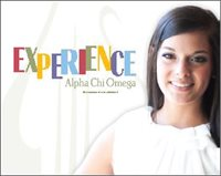 EXPERIENCE Alpha Chi Omega, an overview of our sisterhood