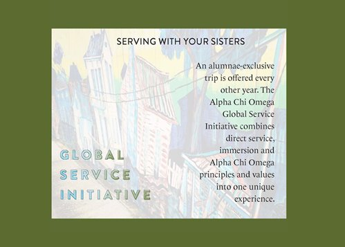Serving with Your Sisters