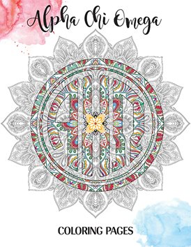 Alpha Chi Omega coloring pages